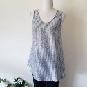 Anthropologie W5 Concepts Gray and White Tunic M